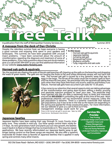 Thumbnail of the Winter/Spring 2010 Newsletter Issue
